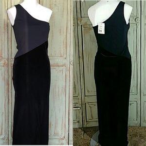 Dresses & Skirts - Emanuel Ungaro one shoulder maxi dress nwt